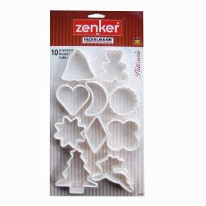 Modeli za kekse PVC 10/1 04295 ZENKER