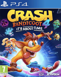 CRASH BANDICOOT 4 ITS ABOUT TIME PS4. DIGITALNA IGRA