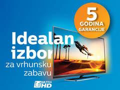 Akcija >>> PHILIPS 4K TV GARANCIJA 5 GODINA Televizor