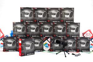Desktop mikrofon Trust MANTIS 22656; streaming; vlog