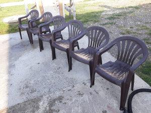 stolice,6komada. 50