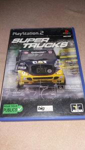 SUPER TRUCKS - Super Kamioni PS2 ORGINAL IGRA