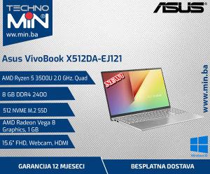 Asus X512DA, Ryzen 5 3500U 2.1/8/512SSD/FHD/CAM