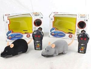 Dječija igračka miš na baterije sa daljinskim