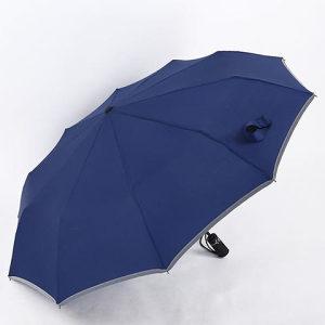 Kvalitetan ženski tamno plavi kišobran ne propušta