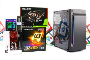 Gaming PC Creek 3; i5-9400F; GTX 1650; 120GB SSD; 8GB