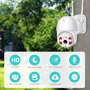 kamera vanjska ptz kamere wifi camere  video audio