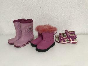 Djecije cizme + sandale br. 26