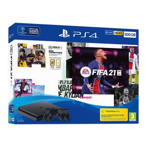 Sony PlayStation 4 PS4 500GB + 2x Dualshock + FIFA 21