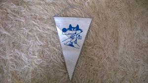 Olimpijska zastavica ZOI - Vucko - Sarajevo 84