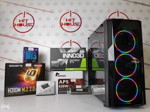 Računar Gaming PC i3-9100f //8GB// GTX1650 1650 4GB hht