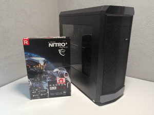 Gaming računar i5 6400 l 8GB DDR4 l RX 570 4GB l 120SSD