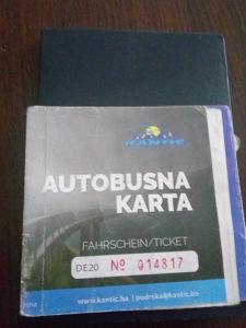Autobusna karta