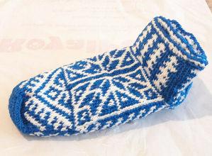 Priglavke priglavci čarape pletene ručni rad pape