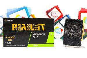Grafička kartica GTX 1650 StormX OC 4GB Palit GDDR6