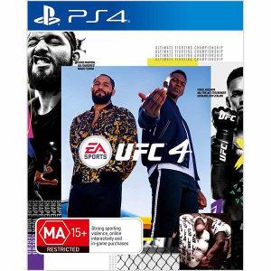 UFC 4 PS4 Playstation 4 Vakum