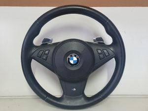 BMW E60 E61 E63 E64 Volan M sa F1 Saltanjem