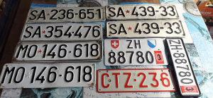 9 stari tablica za kolekcionare