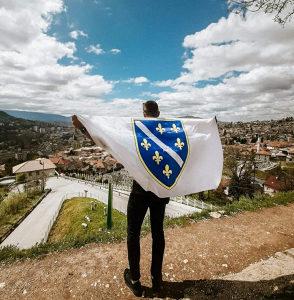 Zastava ljiljani (Zastava BiH sa ljiljanima)