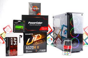 Gaming PC Cobweb 3; R5 3500x; RX 5500 XT; 480GB SSD