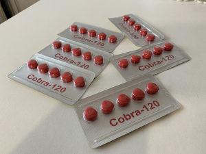 Cobra 120 tablete za potenciju