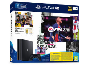 PS4 500GB Classic Black  Fifa 21