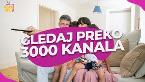 MaxiNET IPTV - Dokazano najbolji provider
