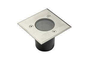 GTV Vrtna svjetiljka ugradbena GU10 aluminijum IP67