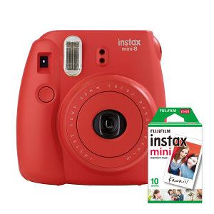FUJIFILM Instax Mini 8 Red set aparat + film