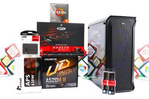 Gaming PC Titan 25; R5 3500x; RX 570; 240GB SSD; 16GB