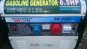Agregat za struju RoyalKraft RK8500