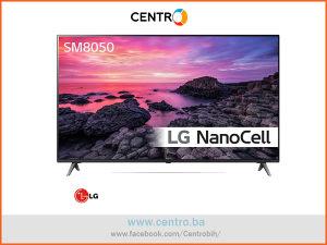 "LG TV 55SM8050PLC, 55"" (140 cm) NanoCell, 4K UHD, Smart"