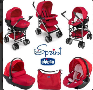 Chicco trio Sprint kolica za bebe NOVA CIJENA400