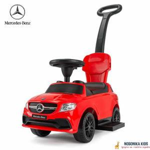 Guralica Mercedes sa muzikom auto za bebe crvena NOVO