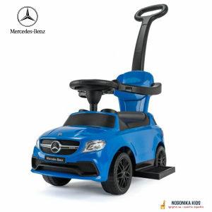 Guralica Mercedes sa muzikom auto za bebe plava NOVO