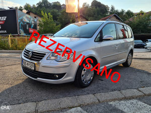 VW TOURAN 2.0 TDI *FACELIFT*DSG*ECC*REG*