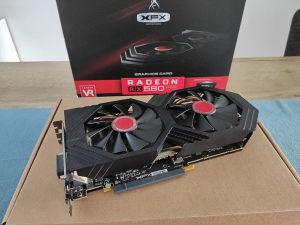 XFX AMD Radon RX 580 4GB GTS (sa garancijom)