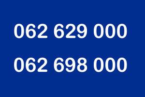 ULTRA BROJEVI - BROJ 062 629 000 - BH TELECOM