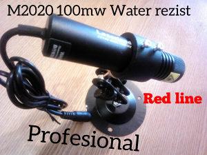 Laser linijski VODOOTPORAN 100mw LASERLAND