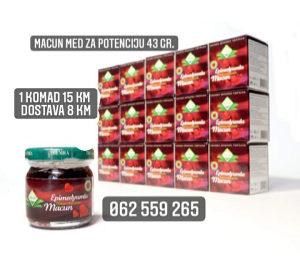 ORIGINAL Macun med prirodni lijek za potenciju *SNIŽENO