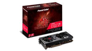POWERCOLOR RX 5700 XT 8GB GDDR6 Red Dragon