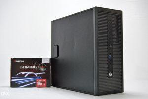 HP I5 4590S/ 8GB RAM/ 4GB DDR5 RX550 /500GB HDD ^