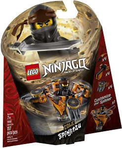 LEGO NINJAGO SPINJITZU COLE