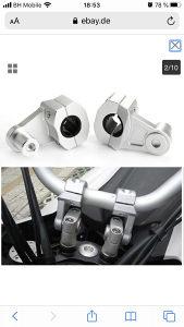 Guvernal,volan za motor,motocikl,produzetak, adapter