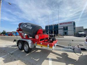 METALIKA CM-1500 Mixer za beton (Mikser 1.5m3)
