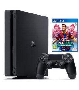 PlayStation 4 Slim + PES 2021 PS4 Konzola