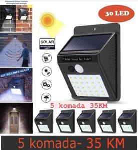 Led Solarni Reflektori na senzor pokreta/ 30 dioda