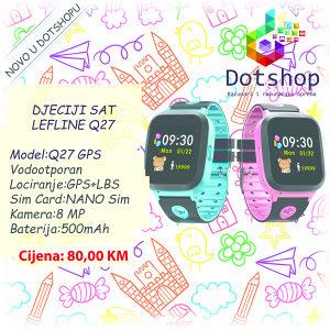 Pametni Sat Djeciji SMARTWATCH Q27 GPS TOUCH IP67