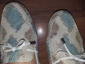 GEOX kozne mokasinke 39 dva puta obuvene