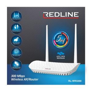 Bežični ruter REDLINE RL-WR3200 300Mbps
